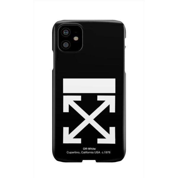 Off White Logo for Premium iPhone 11 Case