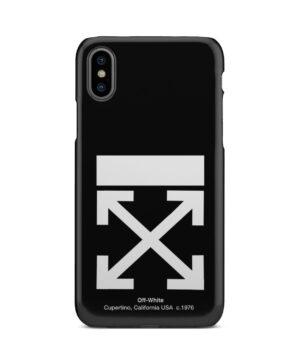 Off White Logo for Premium iPhone X / XS Case