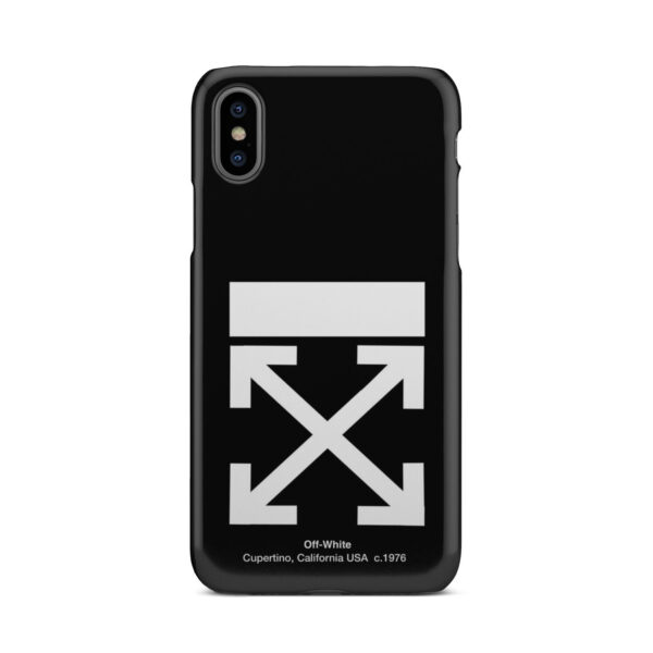 Off White Logo for Premium iPhone X / XS Case