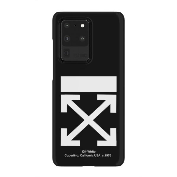 Off White Logo for Premium Samsung Galaxy S20 Ultra Case Cover
