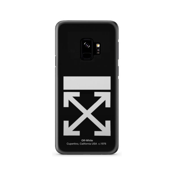 Off White Logo for Simple Samsung Galaxy S9 Case Cover