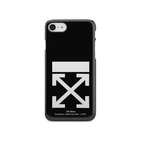 Off White Logo for Stylish iPhone SE 2020 Case