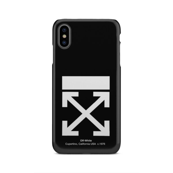 Off White Logo for Unique iPhone XS Max Case Cover