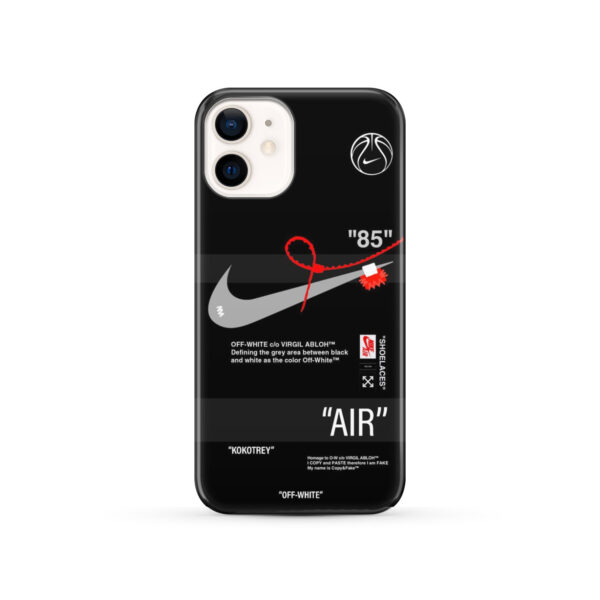 Off White Nike Air Jordan for Best iPhone 12 Case Cover
