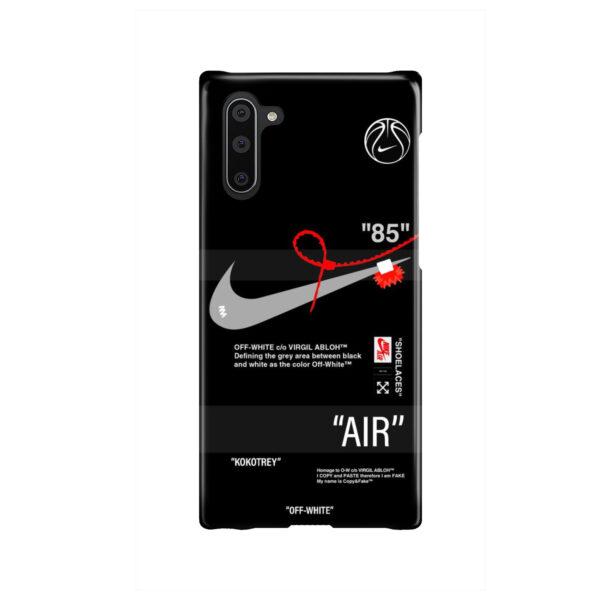 Off White Nike Air Jordan for Custom Samsung Galaxy Note 10 Case Cover