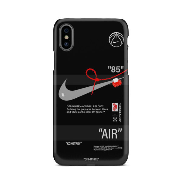 Off White Nike Air Jordan for Customized iPhone X / XS Case