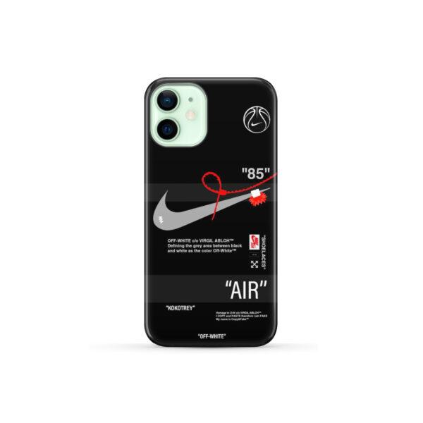 Off White Nike Air Jordan for Personalised iPhone 12 Mini Case