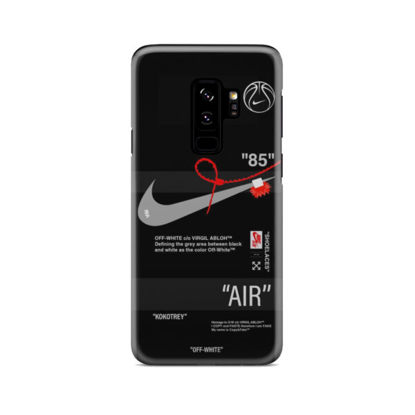 Off White Nike Air Jordan for Stylish Samsung Galaxy S9 Plus Case Cover