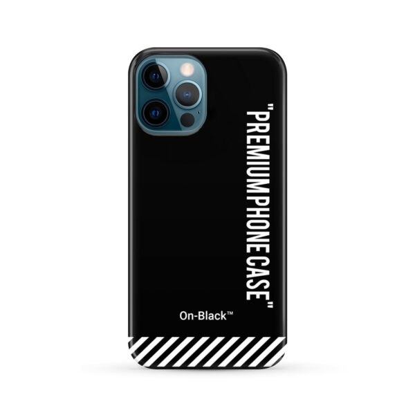 Off White On-Black for Beautiful iPhone 12 Pro Max Case Cover