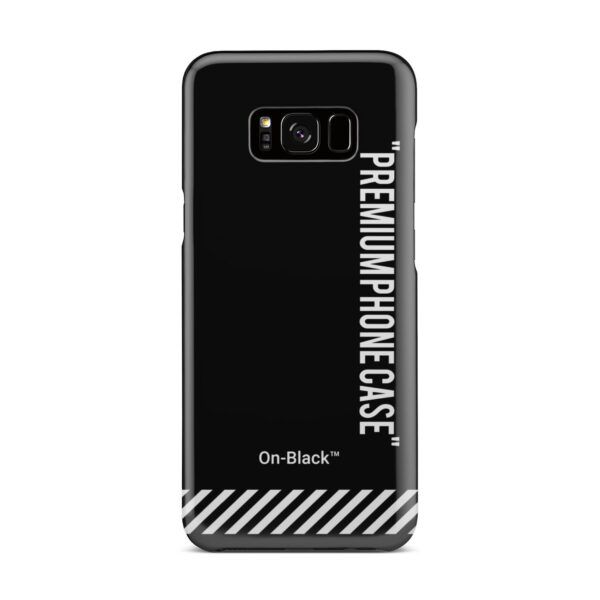 Off White On-Black for Best Samsung Galaxy S8 Plus Case Cover