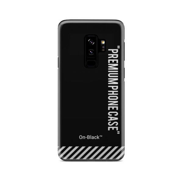 Off White On-Black for Best Samsung Galaxy S9 Plus Case Cover