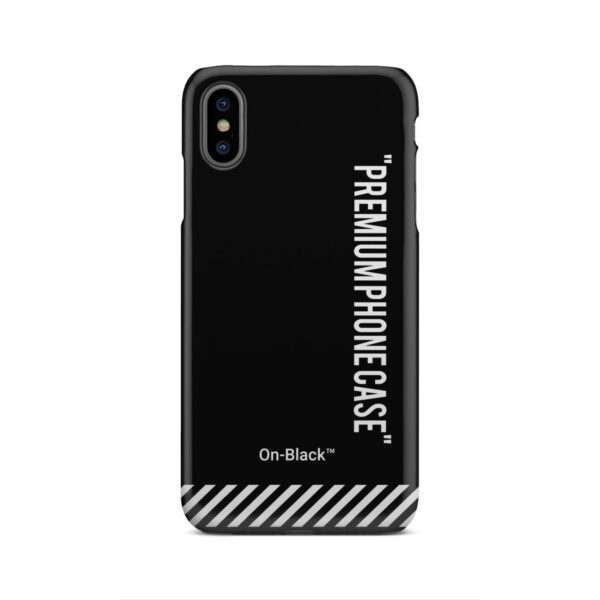 Off White On-Black for Customized iPhone XS Max Case