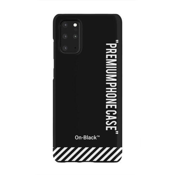 Off White On-Black for Simple Samsung Galaxy S20 Plus Case Cover