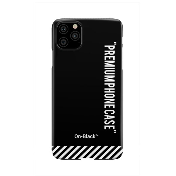 Off White On-Black for Unique iPhone 11 Pro Max Case Cover