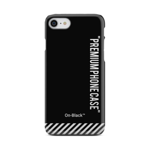 Off White On-Black for Unique iPhone 7 Case