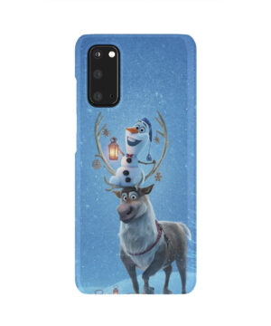 Olaf's Frozen Adventure for Amazing Samsung Galaxy S20 Case Cover