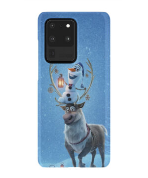 Olaf's Frozen Adventure for Amazing Samsung Galaxy S20 Ultra Case