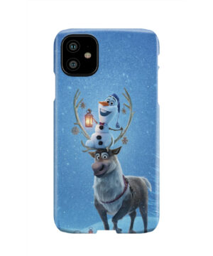 Olaf's Frozen Adventure for Beautiful iPhone 11 Case
