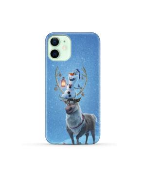 Olaf's Frozen Adventure for Beautiful iPhone 12 Mini Case