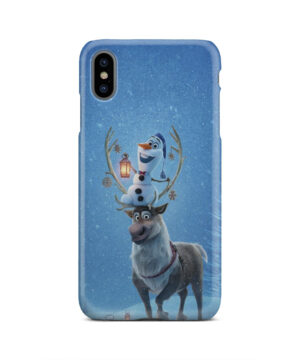 Olaf's Frozen Adventure for Best iPhone XS Max Case Cover