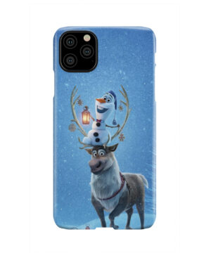 Olaf's Frozen Adventure for Custom iPhone 11 Pro Max Case