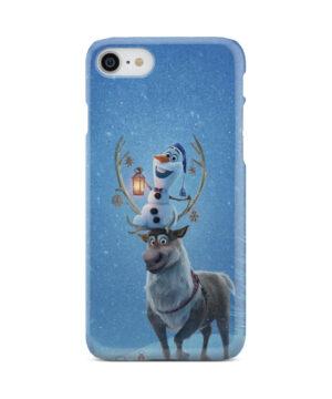 Olaf's Frozen Adventure for Premium iPhone 8 Case