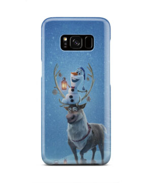 Olaf's Frozen Adventure for Premium Samsung Galaxy S8 Case