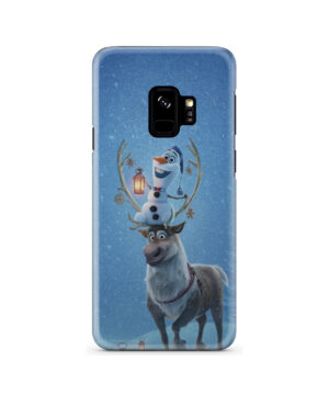 Olaf's Frozen Adventure for Premium Samsung Galaxy S9 Case Cover