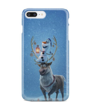 Olaf's Frozen Adventure for Simple iPhone 8 Plus Case