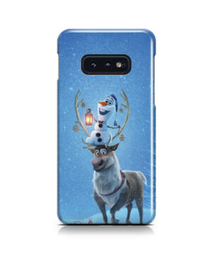 Olaf's Frozen Adventure for Stylish Samsung Galaxy S10e Case
