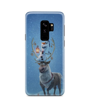 Olaf's Frozen Adventure for Stylish Samsung Galaxy S9 Plus Case