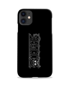 One Piece Logo Anime for Best iPhone 11 Case Cover