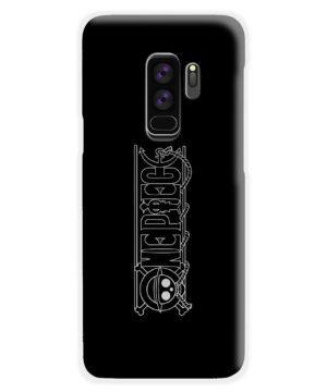 One Piece Logo Anime for Best Samsung Galaxy S9 Plus Case