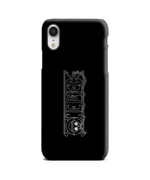 One Piece Logo Anime for Customized iPhone XR Case Cover