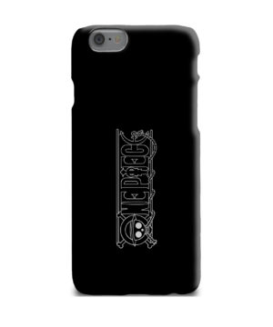 One Piece Logo Anime for Cute iPhone 6 Plus Case