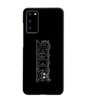 One Piece Logo Anime for Simple Samsung Galaxy S20 Case Cover