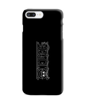 One Piece Logo Anime for Stylish iPhone 7 Plus Case Cover
