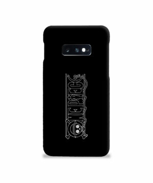 One Piece Logo Anime for Stylish Samsung Galaxy S10e Case