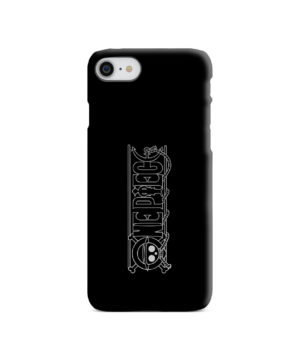 One Piece Logo Anime for Unique iPhone SE (2020) Case Cover