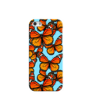Orange Monarch Butterfly for Amazing iPhone 5 Case Cover