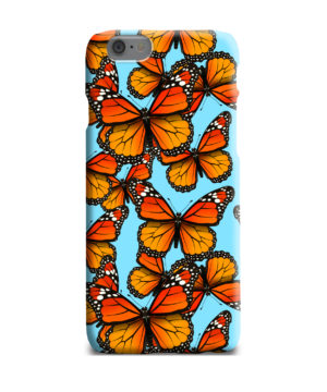 Orange Monarch Butterfly for Amazing iPhone 6 Plus Case Cover