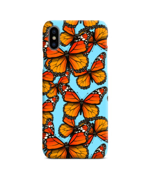 Orange Monarch Butterfly for Amazing iPhone X / XS Case Cover