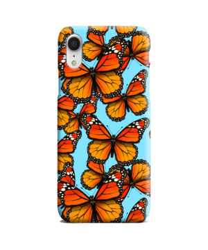 Orange Monarch Butterfly for Best iPhone XR Case Cover