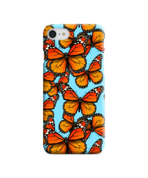 Orange Monarch Butterfly for Custom iPhone 8 Case Cover