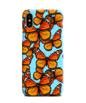 Orange Monarch Butterfly for Customized iPhone XS Max Case