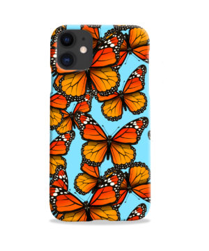 Orange Monarch Butterfly for Newest iPhone 11 Case