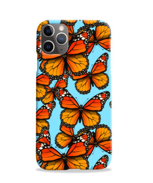 Orange Monarch Butterfly for Newest iPhone 11 Pro Case