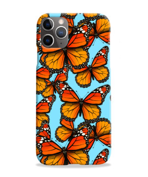 Orange Monarch Butterfly for Newest iPhone 11 Pro Max Case