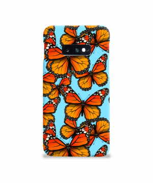 Orange Monarch Butterfly for Simple Samsung Galaxy S10e Case Cover