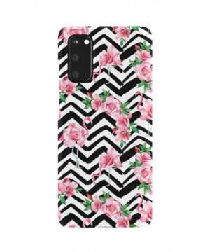Pink Flamingo and Rose Flowers for Best Samsung Galaxy S20 Case